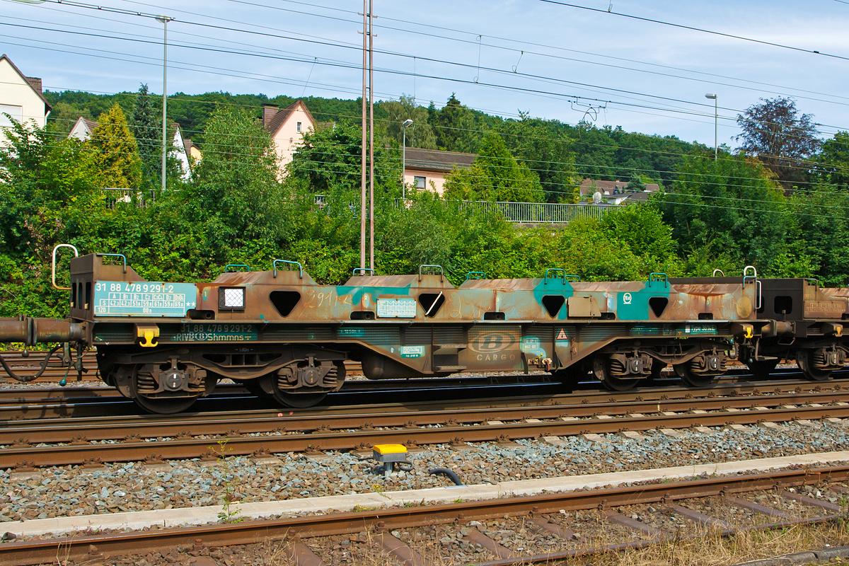 4-achiger Drehgestellwagen für Coiltransporte der Gattung Shmmns ...