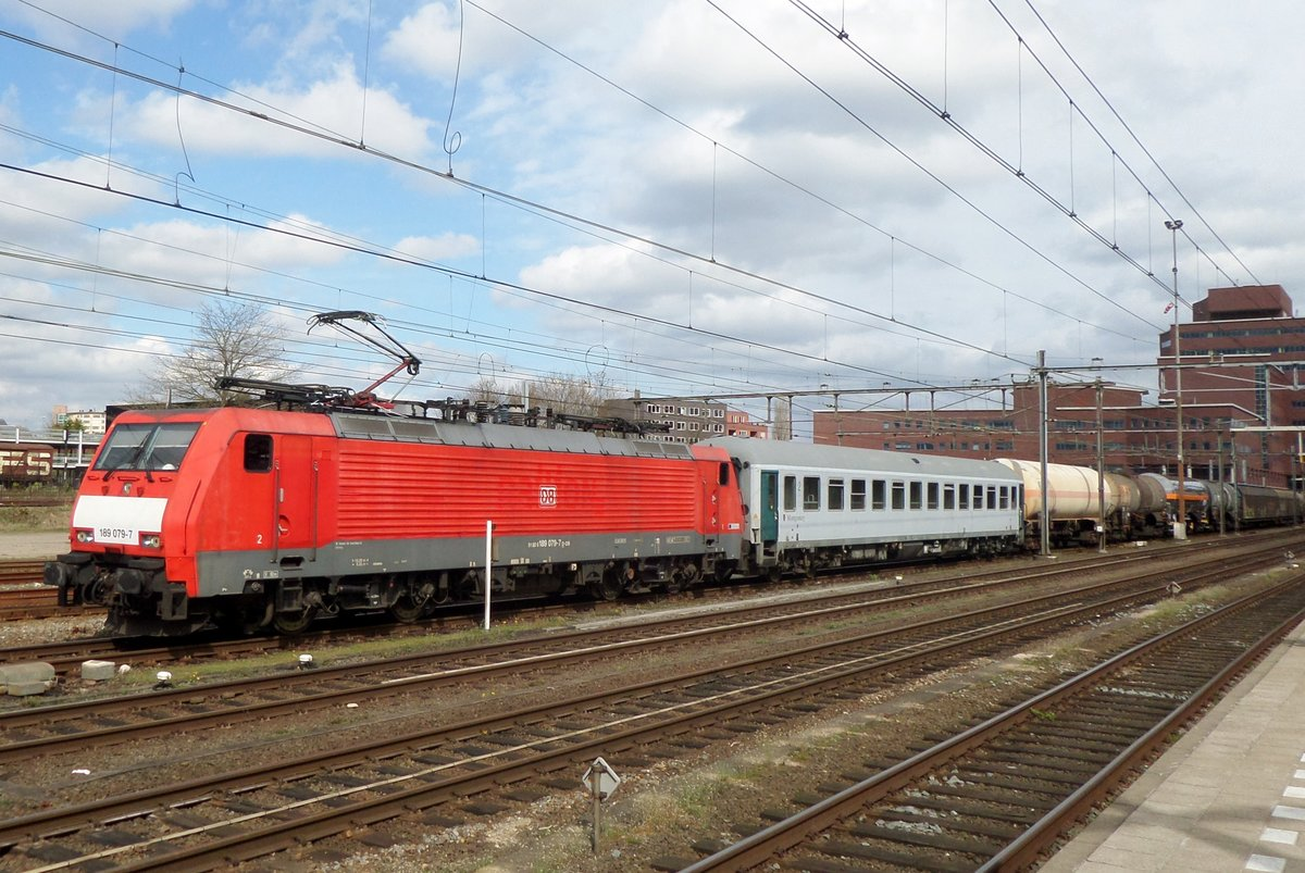 Am 17 Oktober 2014 treft 189 079 in Amersfoort ein.