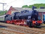 br-57-db-057-preuss-g-10/173948/die-57-3088-ex-g10-6011 Die 57 3088 (ex G10 6011 Halle) am 29.04.2007 im Südwestfälische Eisenbahnmuseum, Siegen.