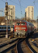 br-218-v-164-2/530660/db-impressionen-des-bahnhofs-stuttgart-hbf DB: Impressionen des Bahnhofs Stuttgart Hbf vom 3. Dezember 2016. Foto: Walter Ruetsch