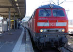 br-218-v-164-2/530670/db-impressionen-des-bahnhofs-stuttgart-hbf DB: Impressionen des Bahnhofs Stuttgart Hbf vom 3. Dezember 2016. Foto: Walter Ruetsch