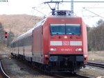 101 065-1 in Lietzow am 17.04.2016