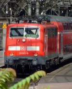 BR 111/174177/111-013-9-faehrt-mit-re-9 111 013-9 fährt mit RE 9 (Rhein-Sieg-Express) am 20.07.2009 vom Hauptbahnhof Köln Richtung Gießen. Seid 12. Dezember 2010 fährt der RE 9 nur noch bis Siegen.