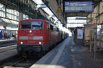 BR 111/530667/db-impressionen-des-bahnhofs-stuttgart-hbf DB: Impressionen des Bahnhofs Stuttgart Hbf vom 3. Dezember 2016. Foto: Walter Ruetsch