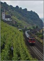 br-155-ex-dr-250/349932/die-db-155-152-2-ist-bei Die DB 155 152-2 ist bei Hatzenport an der Mosel unterwegs.  21. Juni 2014