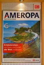 Werbeplakate/285662/ameropa-werbeplakat-gesehen-am-04052013-im AMEROPA Werbeplakat, gesehen am 04.05.2013 im Bahnhof Hilchenbach. Irgendwie hat dieses mich sehr fasziniert.