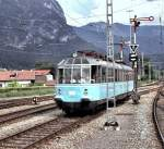 491 001-4 in Garmisch-Partenkirchenim Juni 1977.