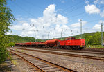 Die 203 111-0 (92 80 1203 111-0 D-EBM) der Rail Cargo Carrier - Germany GmbH (ehem.