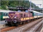 Serie 3600/174146/die-bb-3602-wartet-am-31082004 Die BB 3602 wartet am 31.08.2004 im Bahnhof von Clervaux auf die Weiterfahrt nach Troisvierges. (Hans)
