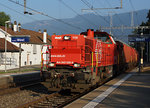 SBB: Löschzug mit der Am 843 026-6 in Solothurn-West am 31. August 2016.