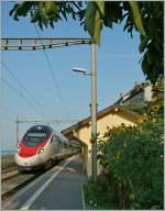 etr-610-rabe-503-2/289991/sbb-etr-610-als-ec-37 SBB ETR 610 als EC 37 auf der Fahrt nach Venezia bei der Durchfahrt in St-Saphorin.  31. August 2013  (1024px Variante)